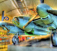 De Havilland Mosquito B35 - Hendon - HDR by Colin  Williams Photography