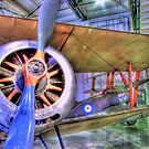 Sopwith Pup and Sopwith Triplane - Hendon - HDR by Colin J Williams Photography