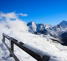 Snowtime in the Austrian Mountains by Sue Leonard
