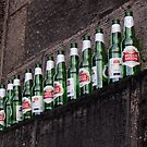 Ten green bottles hanging on a wall...  by Marta69