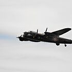Avro Lancaster  by larry flewers