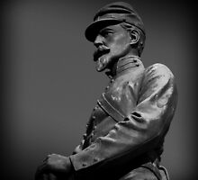 Soldier In Bronze by David Dehner