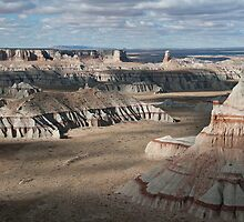 Arizona Badlands II by Mitchell Tillison