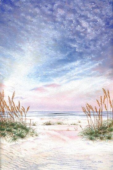 Coastal Morning Colors and Shadows by Kate Eller