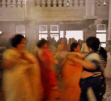 Durga Pooja Dancers  by Shubd