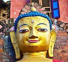 Swayambhu Buddha by AlliD
