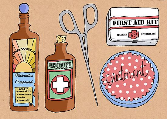 Medical Items by Samantha Mabley