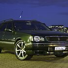 "My ""Sherwood Green"" Nissan Stagea by GoldZilla"