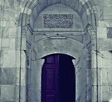 A door in Old Mosque,Edirne by rasim1