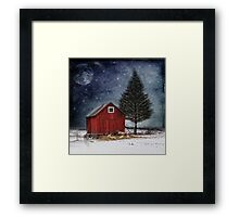 all is calm, all is bright... Framed Print