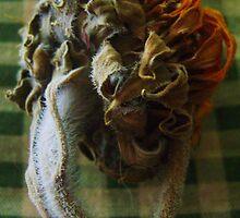 Too much sun-sunflower by Tee Mezz