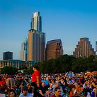4th of July In Austin, Texas by Roschetzky