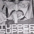 Tupper Supper Poster Detail by Christopher Clark