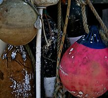 Battered Buoys by phil decocco