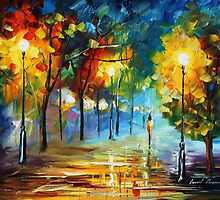 REPLICATION OF YOUTH - ORIGINAL ART OIL PAINTING BY LEONID AFREMOV by Leonid  Afremov