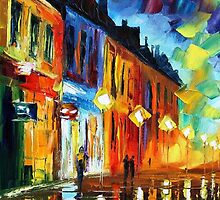 INCEPTION - Original Art Oil Painting By Leonid Afremov by Leonid  Afremov