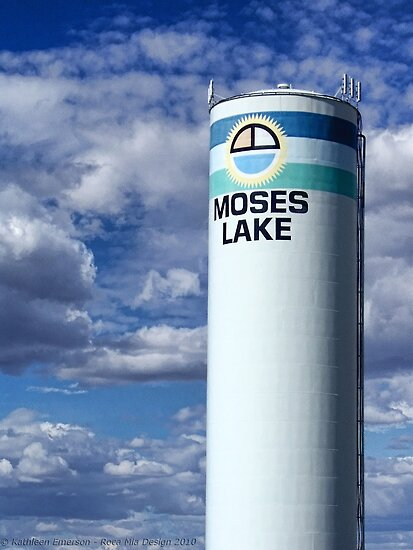 Water Tower (Moses Lake, Washington, USA) by rocamiadesign