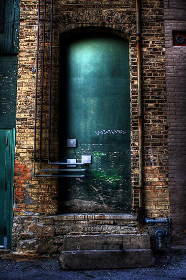 Entry Forbidden ~ Almost Urban by Jigsawman