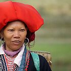 My big red hat-Vietnam by lynnehayes