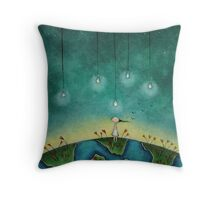 You light up my world Throw Pillow