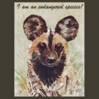 I am an endangered species! by Maree Clarkson