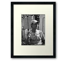chatting  ( trailer Park america series )  Framed Print