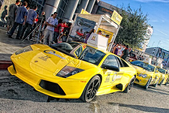 TOP GEAR TAXI @ SEMA, LAS VEGAS by Robert Beck