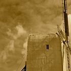 The white  Windmill 1 by borzoi1