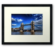 London Tower Bridge Framed Print
