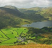 Looking Down On Buttermere Village.. by VoluntaryRanger