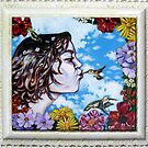 'Hummingbird Kisses' by Jerry Kirk