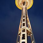 Space Needle at Night by John Carpenter
