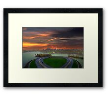 Allegory of Unreachable Land  Framed Print