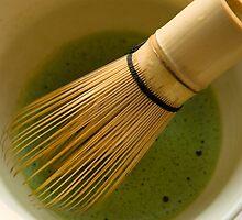 Whisked Green Tea by Skye Hohmann