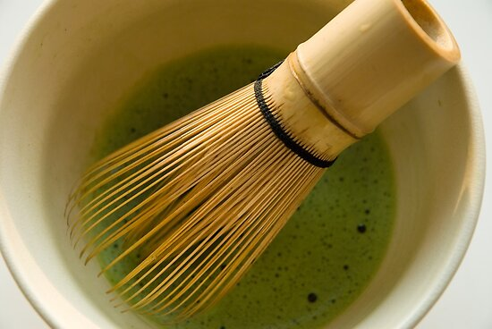 Whisked Green Tea by Skye Hohmann