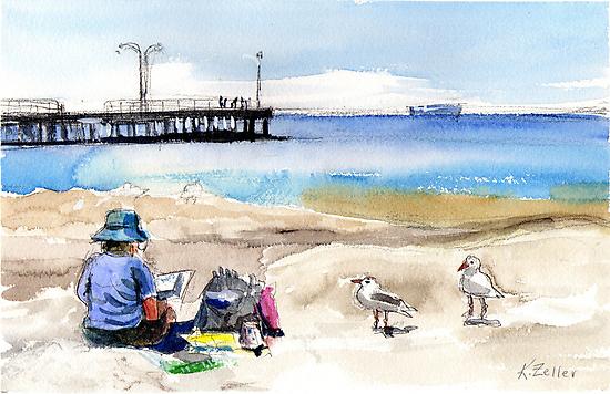 Artist's View, Altona by Karin Zeller