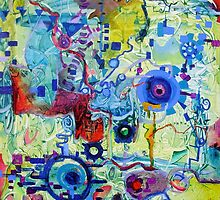 Blue Logic by Regina Valluzzi