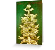 Big tree in a small world (Christmas card) Greeting Card