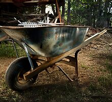 Old Wheelbarrow by YoPedro