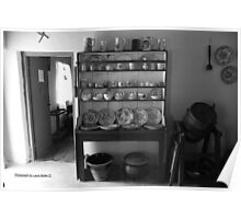 Quiet Rooms - Cottage Interior County Donegal. Poster