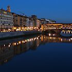 Arno River, Florence  by Stephen Burke