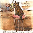 Harry The Cat by weirdartist
