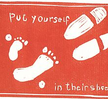 Put Yourself in Their Shoes by Frances Henke
