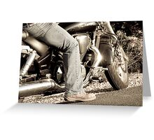 Born to be wild.................. Greeting Card