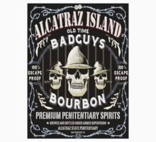 Alcatraz Island BadGuys Bourbon Label-2 by GUS3141592