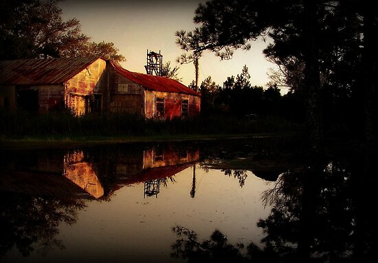 Reflecting the Past by Lea  Weikert