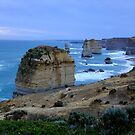 12 Apostles at First Light  by Karen Stackpole