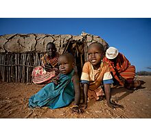 Samburu life Photographic Print