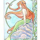 Mermaid by Karen  Hallion