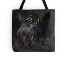 The Confrontation - White-tailed Deer Tote Bag
